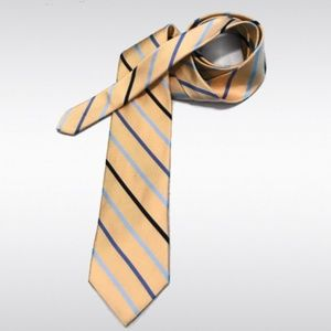 Brooks Brothers Accessories - NWT Brooks Brothers Makers Yellow Striped Tie